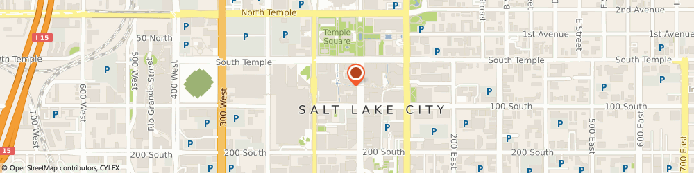 Route/map/directions to Banana Republic, 84101 Salt Lake City, 50 South Main Street