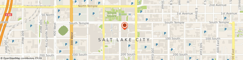 Route/map/directions to ALEX AND ANI, 84111 Salt Lake City, 51 S Main St
