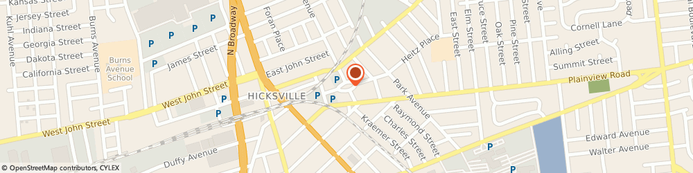 Route/map/directions to Hicksville Gregory Museum, 11801 Hicksville, 1 Heitz Pl
