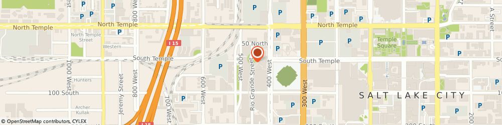 Route/map/directions to Barnes & Noble Gateway, 84101 Salt Lake City, 6 North Rio Grande Street