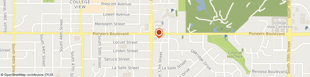 Route/map/directions to Pioneers Boulevard KinderCare, 68506 Lincoln, 5601 Pioneers Blvd