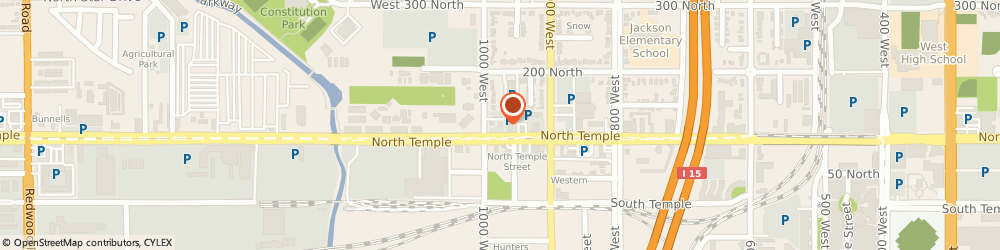 Route/map/directions to 7-Eleven, 84116 Salt Lake City, 960 W. North Temple