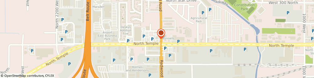 Route/map/directions to Chevron Premium Oil, 84116 Salt Lake City, 1704 WEST NORTH TEMPLE