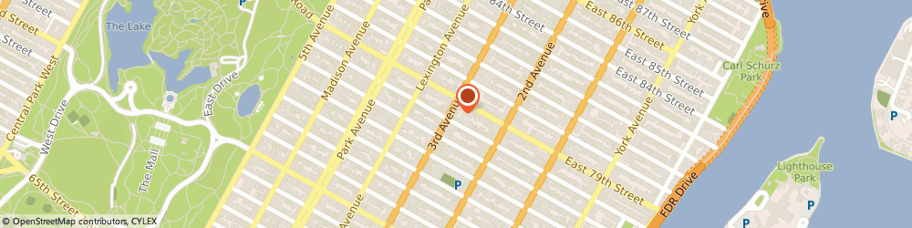 Route/map/directions to H&R Block, 10075 New York, 1377 Third Ave