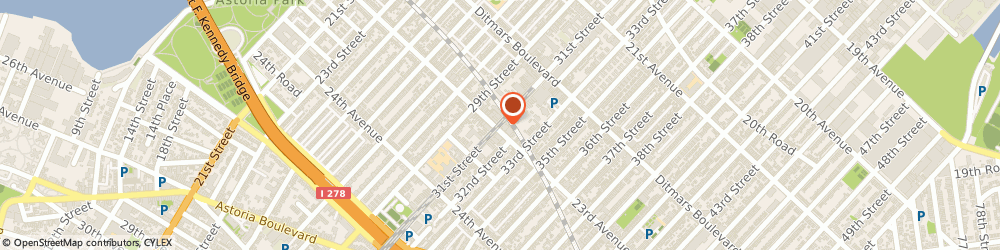 Route/map/directions to High Gear, 11105 Astoria, 2233 31ST STREET