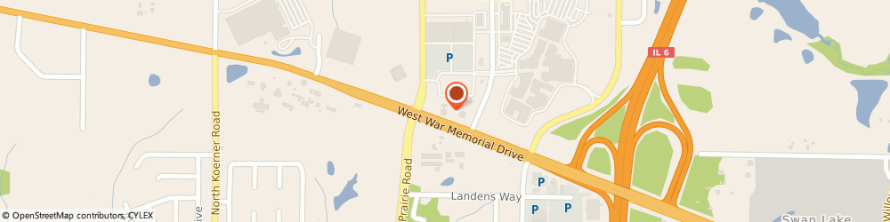 Route/map/directions to Commerce Bank Mortgage, 61615 Peoria, 7400 N Orange Prairie Rd
