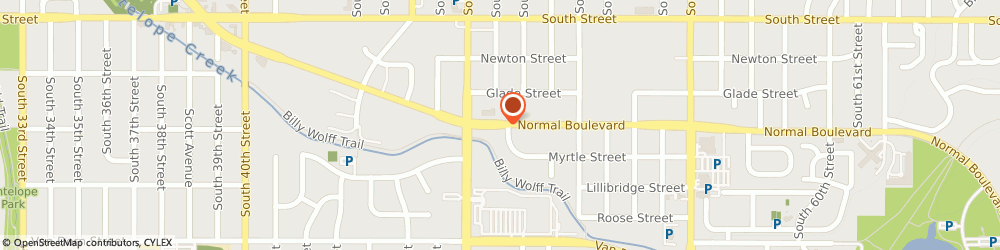 Route/map/directions to Shelter Insurance, 68506 Lincoln, 4910 Normal Blvd, Ste C