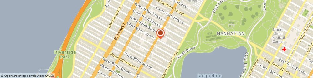 Route/map/directions to BootCamp Clique, 10025 New York, 805 Columbus Ave