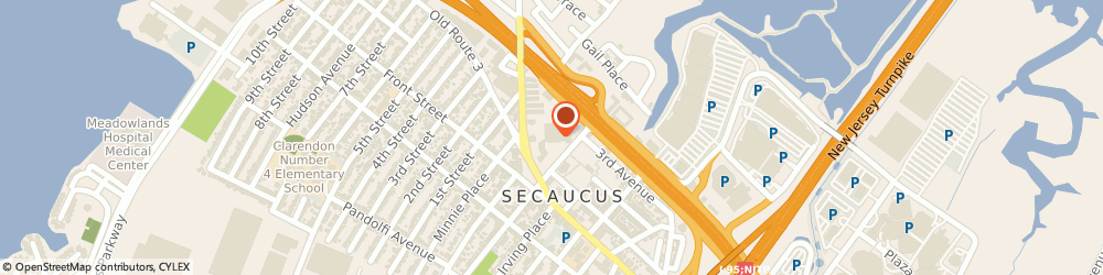 Route/map/directions to Acme Markets Incorporated, 07094 Secaucus, 1300 PATERSON PLANK ROAD
