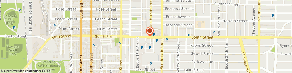Route/map/directions to Cvs Pharmacy, 68502 Lincoln, 1550 SOUTH ST