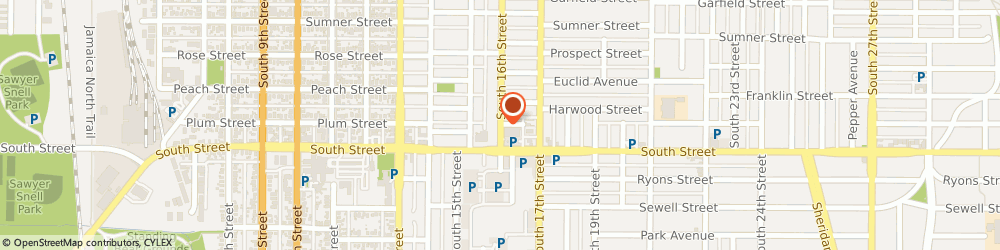 Route/map/directions to Kindercare Learning Centers, 68502 Lincoln, 2110 S 16TH ST