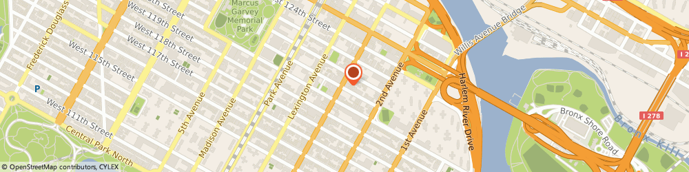 Route/map/directions to Family Optometry 121, 10035 Harlem, 203 E 121ST ST