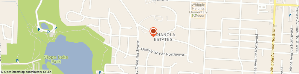 Route/map/directions to Fraternal Order of Eagles, 44708 Canton, 5024 MONTICELLO AVE NW