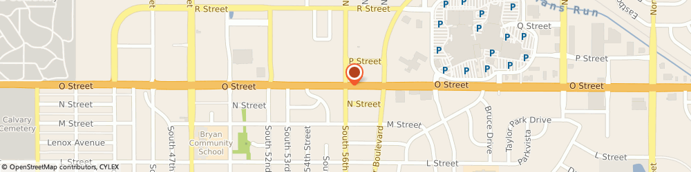 Route/map/directions to US BANK, 68504 Lincoln, 100 NORTH 56TH STREET