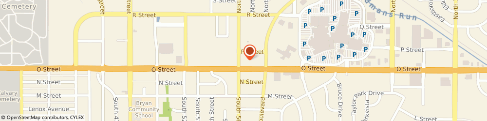 Route/map/directions to U S Bank Home Mortgage, 68504 Lincoln, 100 NORTH 56TH STREET