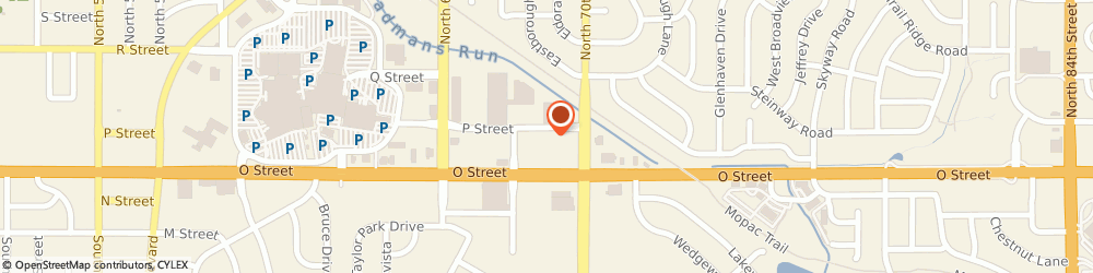 Route/map/directions to CosmoProf, 68510 Lincoln, 6900 'o' Street Ste 107