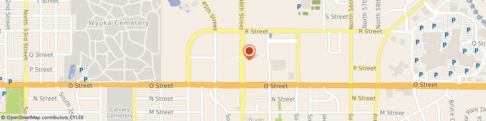 Route/map/directions to US BANK, 68504 Lincoln, 233 NORTH 48TH STREET
