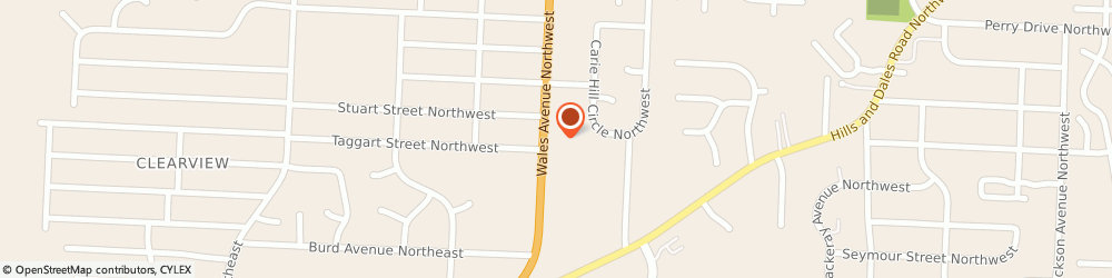Route/map/directions to Citizens Bank, 44646 Massillon, 2200 Wales Ave NW