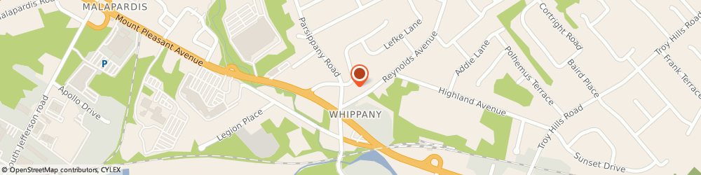 Route/map/directions to All Jersey Animal & Pest Cntrl, 07981 Whippany, 272 CENTRAL AVE