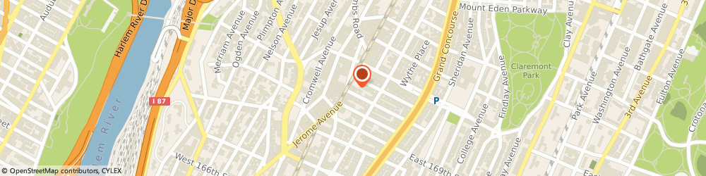Route/map/directions to Richard's Fruit & Vegetable, 10452 Bronx, 1356 JEROME AVE