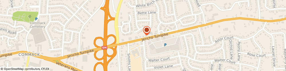 Route/map/directions to Nationwide Insurance Cos, 11725 Commack, 2067 JERICHO TURNPIKE