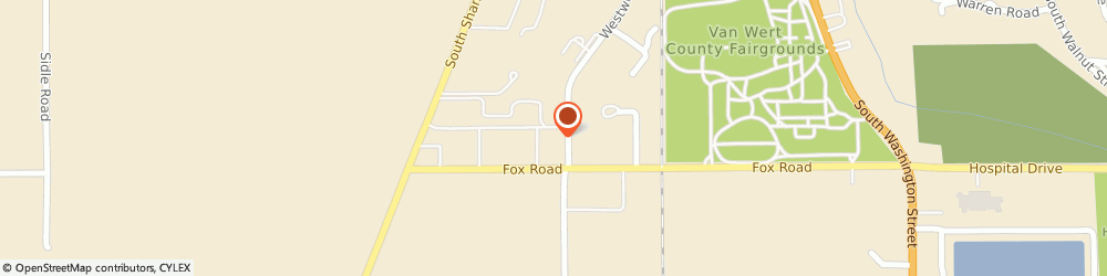 Route/map/directions to Citibank ATM, 45891 Van Wert, 1199 West Wood Dr