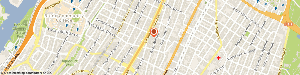 Route/map/directions to Akshar Pharmacy, 10457 Bronx, 2200 Grand Concourse