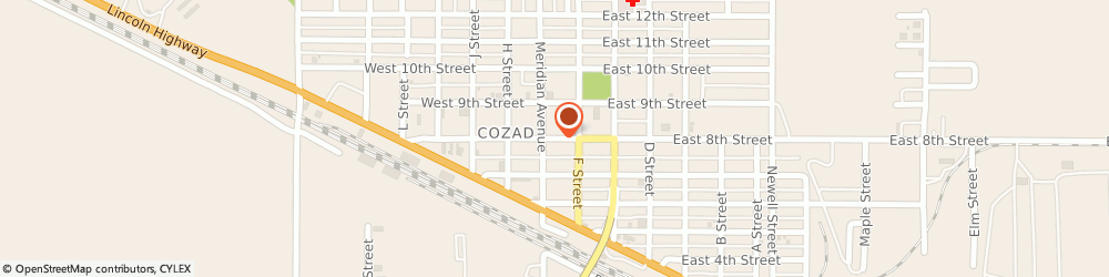 Route/map/directions to Yankee Candle Retailer, 69130 Cozad, 133 East 8Th Street