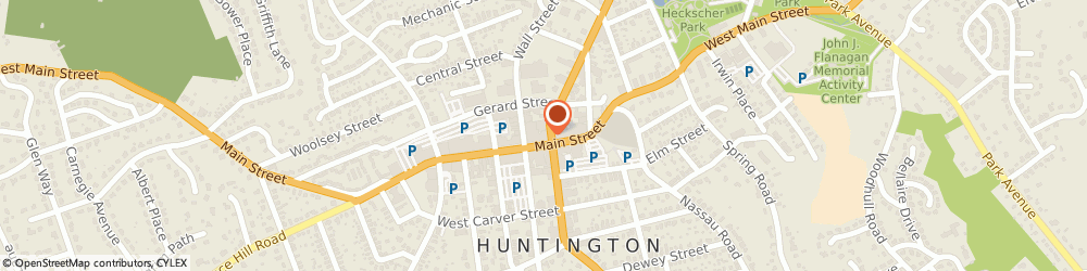 Route/map/directions to LOFT, 11743 Huntington, 263-265 Main Street