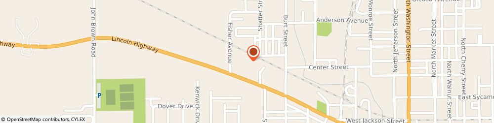 Route/map/directions to Navy Federal Credit Union ATM, 45891 Van Wert, 150 Fisher Ave