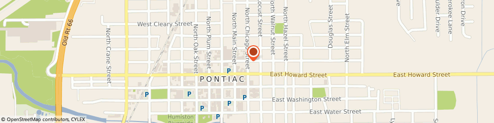 Route/map/directions to Walters Ace Hardware, 61764 Pontiac, 203 E LIVINGSTON ST