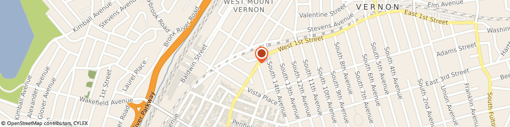 Route/map/directions to Primerica Sylvia John, 10550 Mount Vernon, 235 W 1St St