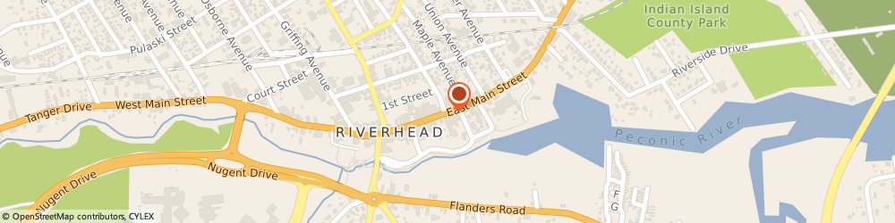 Route/map/directions to Riverhead United Methodist Church, 11901 Riverhead, 204 EAST MAIN STREET