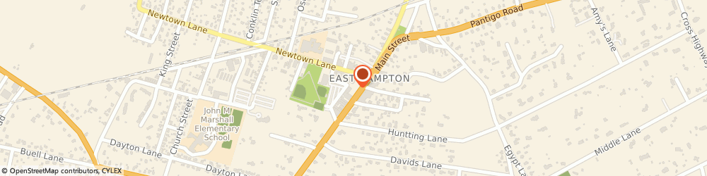 Route/map/directions to Starbucks Coffee East Hampton Village, 11937 East Hampton, 39 Main Street