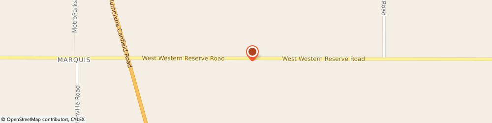 Route/map/directions to R D K MACHINING, 44406 Canfield, 5183 WEST WESTERN RESERVE ROAD