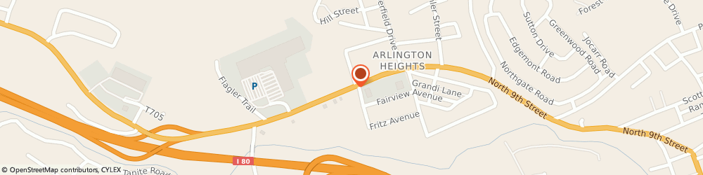Route/map/directions to Wells Fargo STROUDSBURG, 18360 Stroudsburg, 1122 N 9Th St