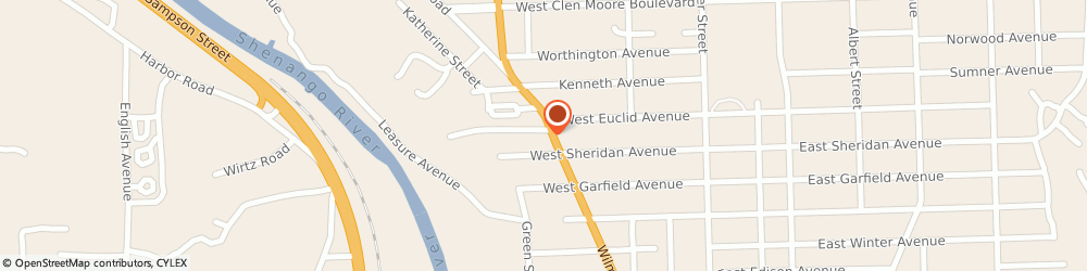 Route/map/directions to Painters Auto Service Inc, 16105 New Castle, 1409 Wilmington Road