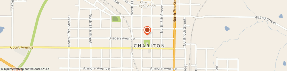 Route/map/directions to Prudential Insurance Co, 50049 Chariton, 927 Braden Avenue