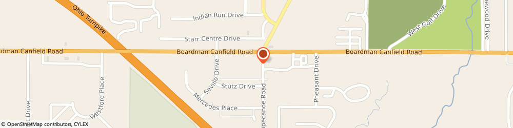 Route/map/directions to Goldsteins Furniture Outlet, 44406 Canfield, 3615 BOARDMAN  ROAD