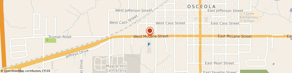 Route/map/directions to Navy Federal Credit Union, 50213 Osceola, 610 W. Mclane