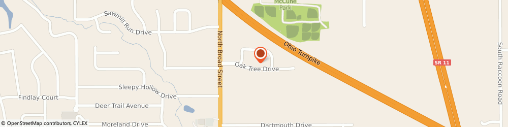 Route/map/directions to Ironwood Funland Driving Range, 44406 Canfield, 62 OAK TREE DRIVE