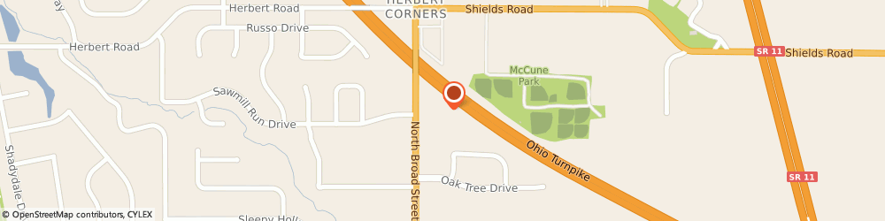 Route/map/directions to Ohio Structures Incorporated, 44406 Canfield, 535 North Broad Street;Suite 5