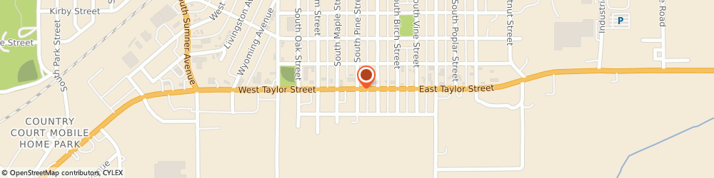 Route/map/directions to Navy Federal Credit Union, 50801 Creston, 103 W Taylor Str