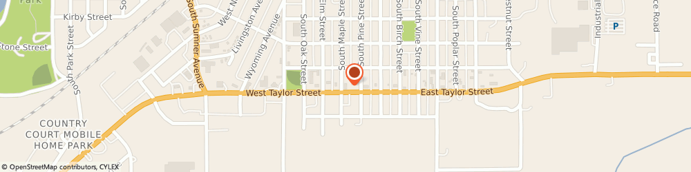 Route/map/directions to Citibank ATM, 50801 Creston, 103 W Taylor