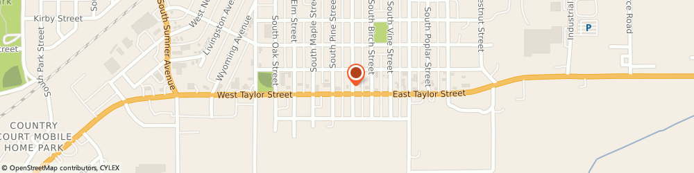 Route/map/directions to Taco John's, 50801 Creston, 708 S Walnut St