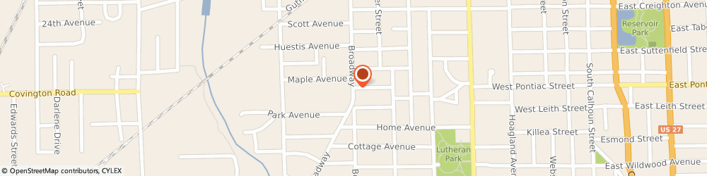 Route/map/directions to American Family Insurance - Agents, Laboube Janie, 46807 Fort Wayne, 2701 BROADWAY