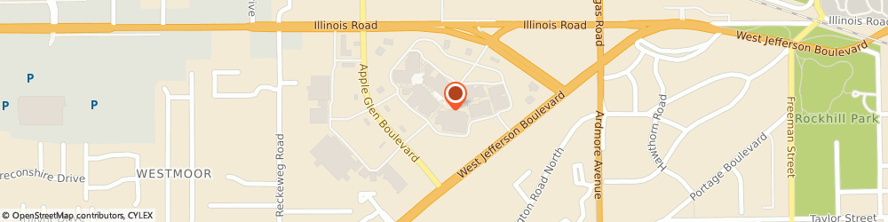 Route/map/directions to Jos. A. Bank Clothiers, 46804 Fort Wayne, 4210 W Jefferson Blvd