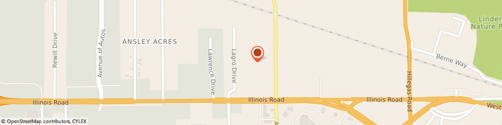 Route/map/directions to Great Clips, 46804 Fort Wayne, 1034 S Thomas Rd