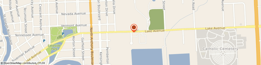 Route/map/directions to American General Life & Accident, 46805 Fort Wayne, 2250 LAKE AVE