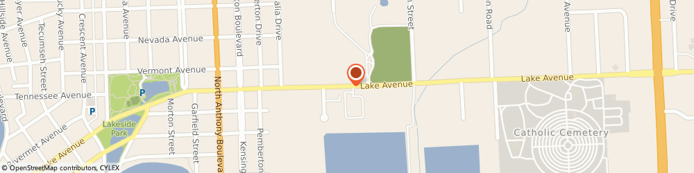 Route/map/directions to Acupuncture Wellbeing Llc, 46805 Fort Wayne, 2426 LAKE AVE